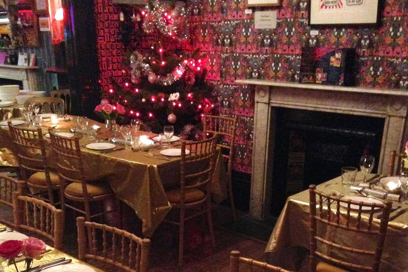 book your xmas staff party at Hotel pelirocco